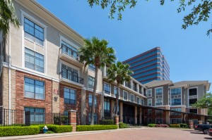 One Bedroom Apartments for Rent in Houston, TX - Exterior Community Driveway & Building Entrance